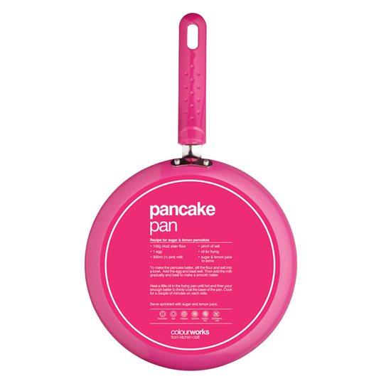 Tigaie roz pentru clatite, 24 cm - Kitchen Craft