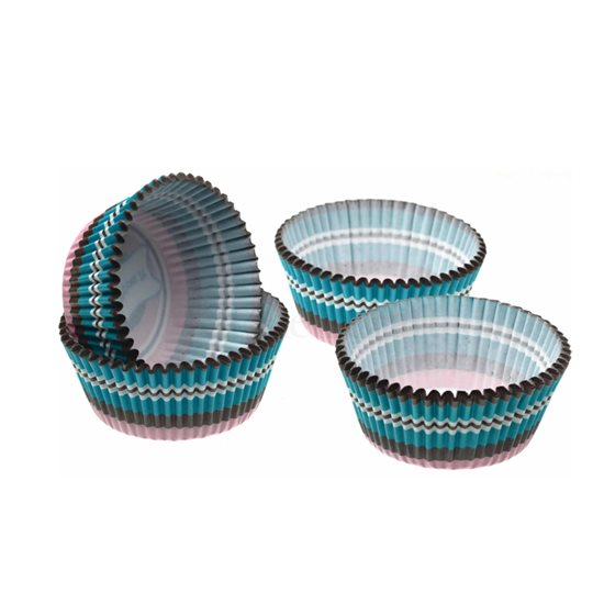 Set 60 forme prajituri, turcoaz- Kitchen Craft