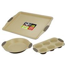Set 3 tavi pentru cuptor - Calve