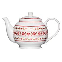 "Ceainic ""Merry Little Christmas"" 1,3 L din portelan - Kitchen Craft"