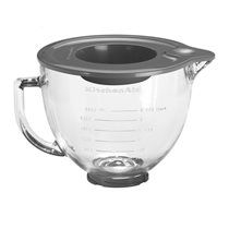 Bol din sticla transparenta 4,8 l - KitchenAid