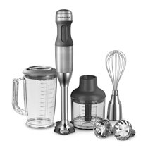 Blender vertical cu 5 viteze 180W, Stainless Steel - KitchenAid