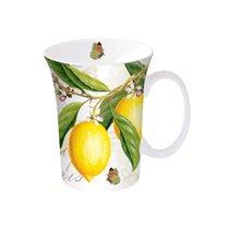 "Cana portelan 360 ml, ""Botanical - Lemon"" - Nuova R2S"