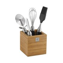 Set 4 ustensile cu suport TWIN Pure Black- Zwilling