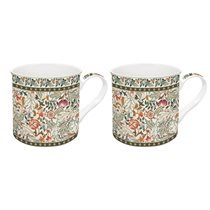 "Set 2 cani portelan 300 ml ""Art around the world - Tapestry"" - Nuova R2S"
