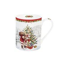 "Cana portelan 300 ml, ""Christmas Tree"" - Nuova R2S"