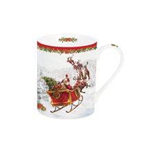 "Cana portelan 300 ml ""Santa's sleigh"" - Nuova R2S"