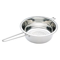 Strecuratoare de inox 22 cm cu maner lung  - Kitchen Craft