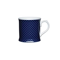 "Cana ""Blue spot"" portelan 400 ml - Kitchen Craft"