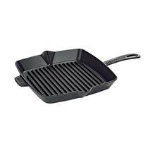 Tigaie grill patrata 30 cm - Staub
