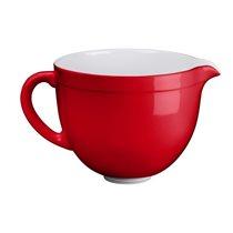 Bol ceramica 4,8 l, Empire Red - KitchenAid