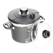 Oala sub presiune 24 cm/ 5,2 L, inductie - AMT Gastroguss