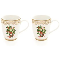 "Set 2 cani 350 ml, ""Mistletoe"" - Nuova R2S"