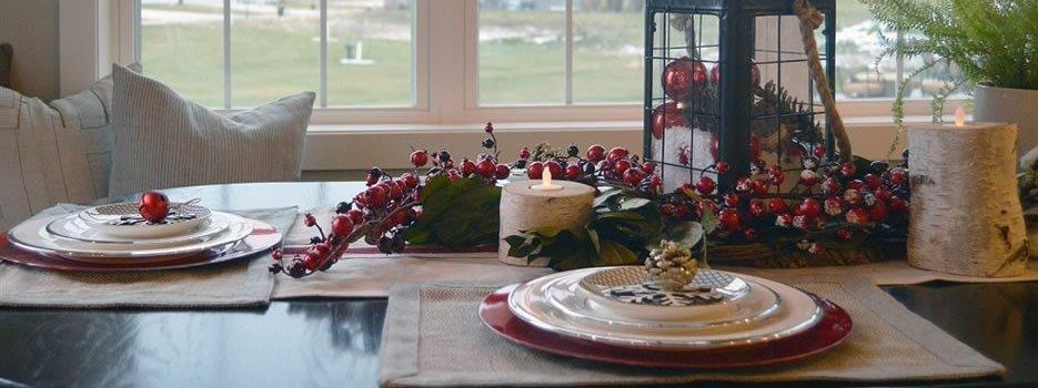 Arta aranjării unei mese festive