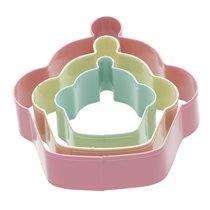 Set 3 forme prajituri - Kitchen Craft