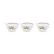 "Set servire aperitive 6 piese ""Olives"" - Nuova R2S"