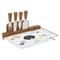 "Set servire branzeturi 6 piese ""Kitchen Basics"" 30,5 x 20 cm - Nuova R2S"