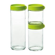 Set 3 caserole din sticla - Glasslock