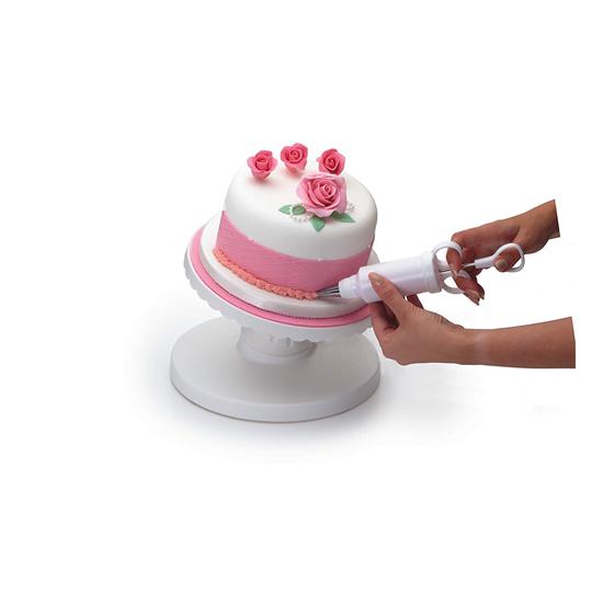 Suport inclinat decorare tort 24 cm - Kitchen Craft