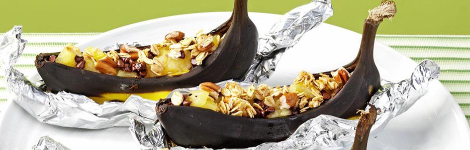 Banane cu ciocolată