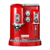 Espressor electric Artisan, Empire Red, 1300 W - KitchenAid