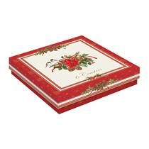 "Set 6 suporturi pentru pahare din pluta ""Spirit of Christmas"" - Nuova R2S"