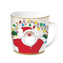 "Cana Craciun ""Christmas Friends - Santa"" 350 ml portelan - Nuova R2S"