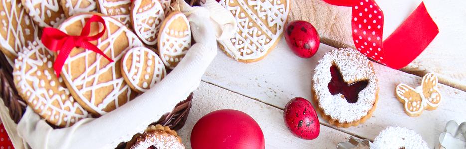 Decoraţiuni dulci pe masa de Paşte