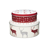 Set 2 recipiente fursecuri design Craciun - Kitchen Craft