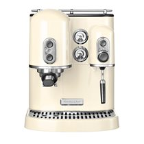 Espressor electric Artisan, Almond Cream, 1300W - KitchenAid