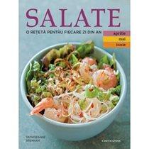 Salate. O reteta/zi ( aprilie, mai, iunie ) - Editura Litera