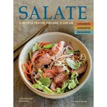 Salate. O reteta/zi ( octombrie, noiembrie, decembrie ) - Editura Litera