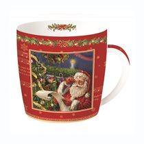 "Cana din portelan 350ml ""Santa's List"" - Nuova R2S"