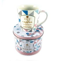"Cana ""Coffee or Tea - Coffee Cup"" 350 ml din portelan - Nuova R2S"