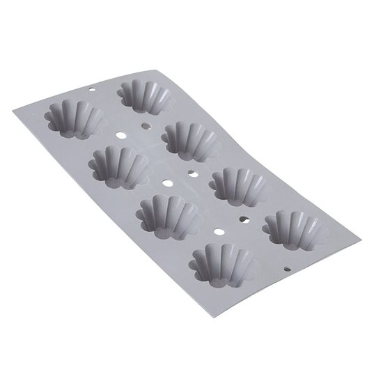 Forma din silicon pentru 8 briose 30 x 17,6 cm - de Buyer