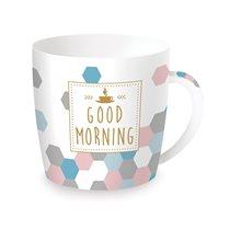 "Cana ""Coffee or Tea - Morning"" 350 ml din portelan - Nuova R2S"