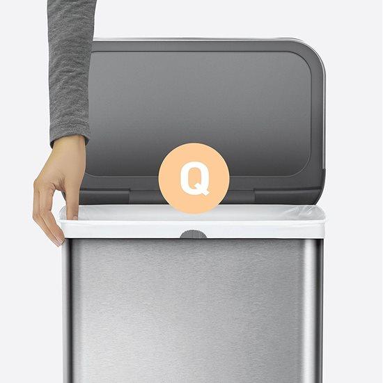 Saci de gunoi cod Q, 50-65 L/ 20 buc. plastic - SimpleHuman