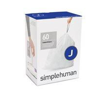 Saci de gunoi cod J, 30-45 L/ 60 buc. plastic - SimpleHuman