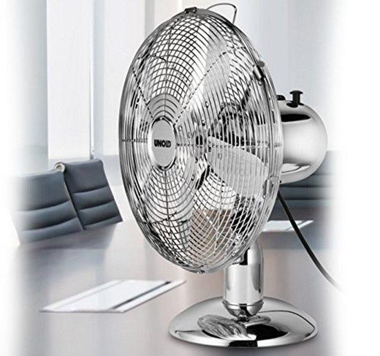 Ventilator de masa 35 W cromat - Unold
