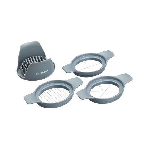 Feliator pentru oua cu 3 accesorii - Kitchen Craft