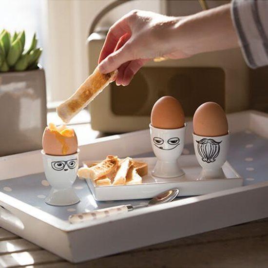 Suport din portelan pentru oua - Kitchen Craft