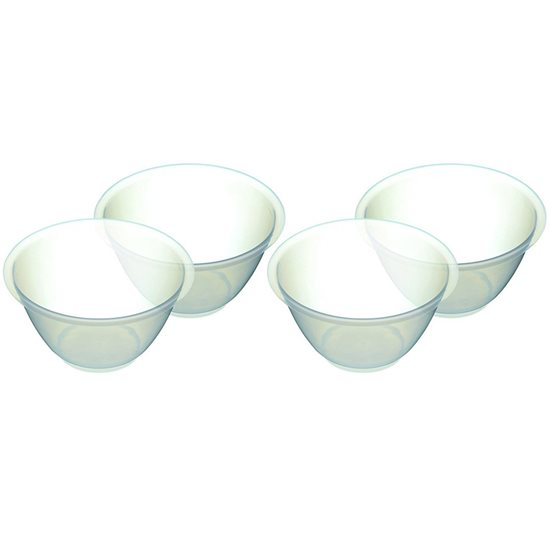 Set 4 boluri mixare 16,5 cm/800 ml plastic - Kitchen Craft