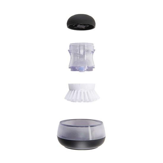 Perie pentru vase cu dozator detergent si suport - OXO