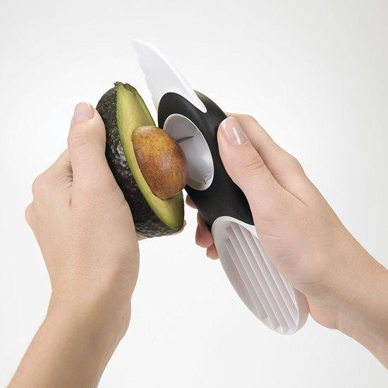 Feliator pentru avocado 3-in-1, plastic - OXO