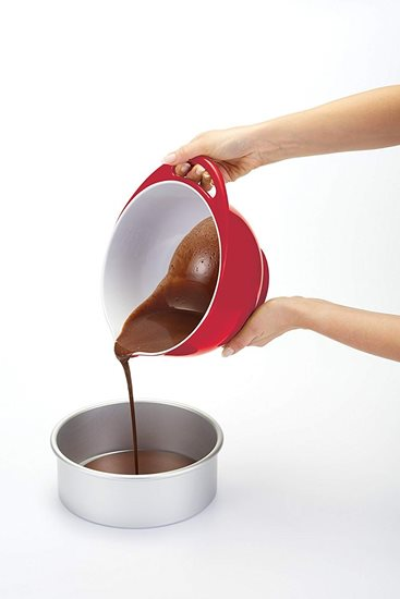 Bol din melamina 24 cm/4 l, rosu - Kitchen Craft