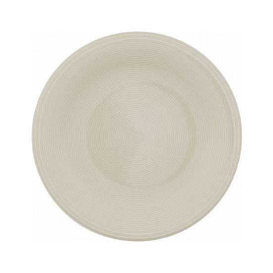 "Farfurie salata ""Color Loop"" 21,5 cm din portelan (bej)- Vivo"