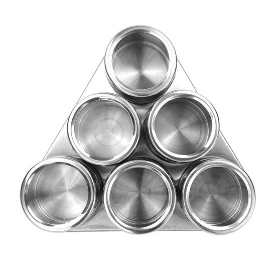 Set 7 piese pentru condimente inox