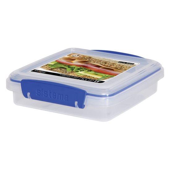 Cutie plastic pentru sandwich-uri KLIP IT, 450 ml - Sistema