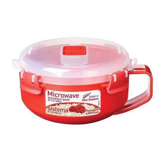 Caserola pentru microunde 850 ml - Sistema