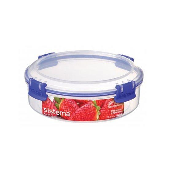 Cutie din plastic pentru alimente KLIP IT, 640 ml - Sistema